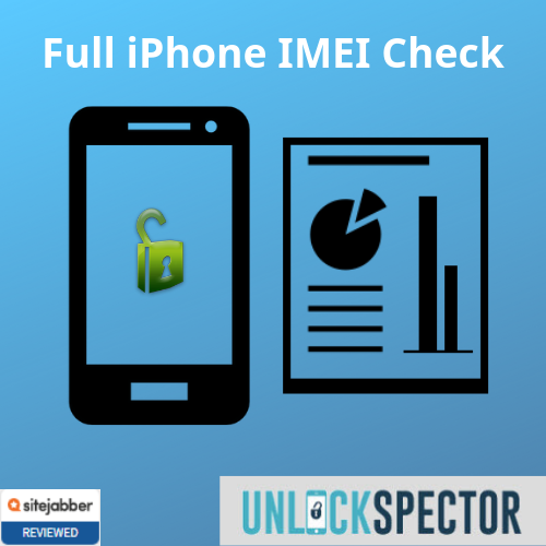 Full iPhone IMEI Check service